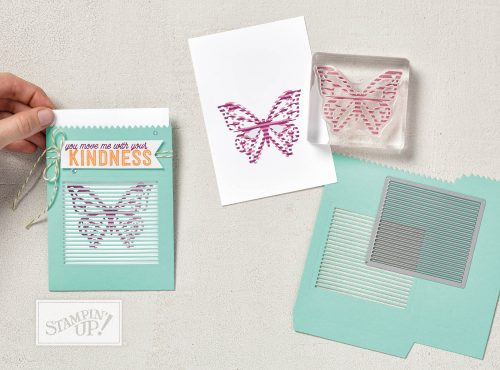 You Move Me stamp set, cards that move