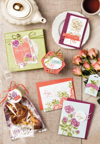 Petal Garden Suite, Stampin Up