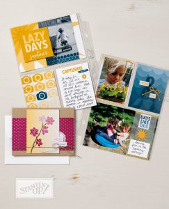 Color Theory Memories and More Card Pack, Stampin Up, pocket memory keeping collection