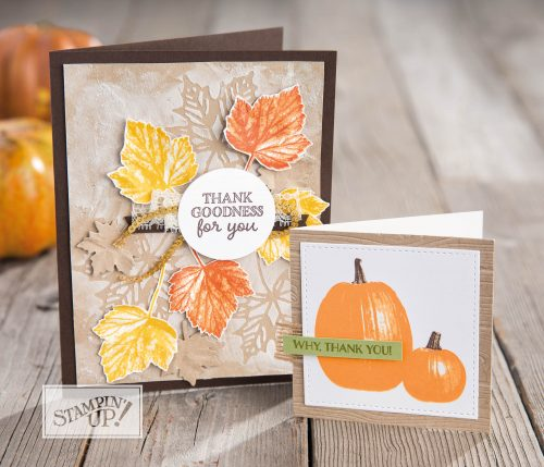 Gourd Goodness stamp set, Stampin Up