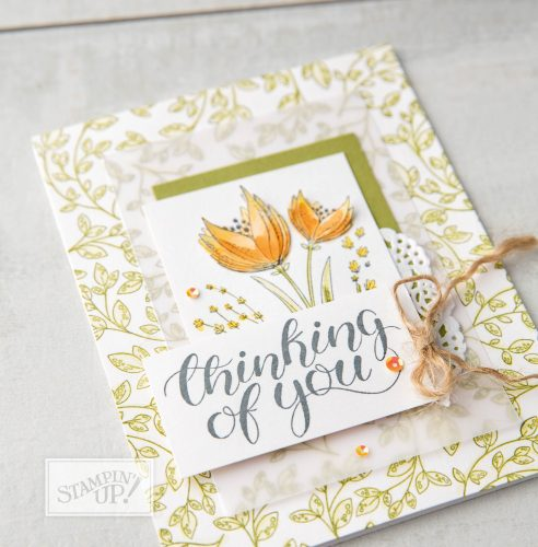 Count My Blessings stamp set, Stampin Up