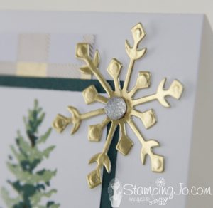 Season Like Christmas stamp set, Stampin Up, handmade Christmas card idea, Designer Series paper