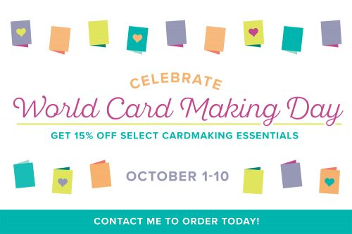 Stock Up Sale for World Card Making Day!