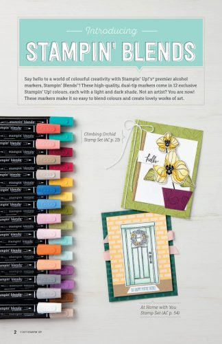 Stampin' Blends Alcohol Markers Now Available!