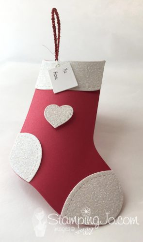 Gift Card Holder with Trim Your Stocking