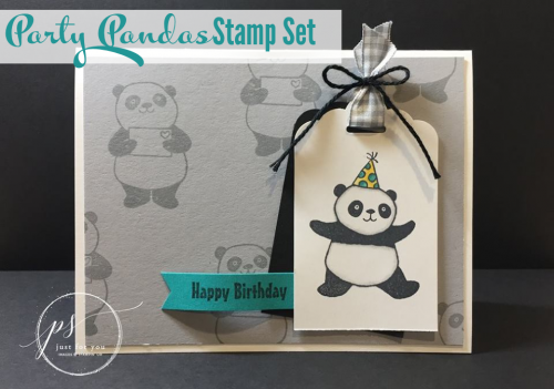 Party Pandas Birthday Card