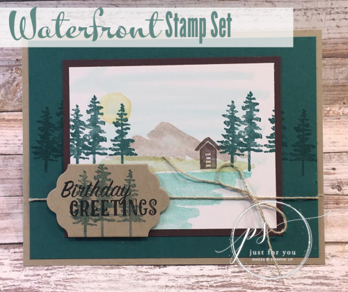 Waterfront Birthday Card