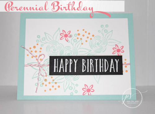 Sweet Perennial Birthday