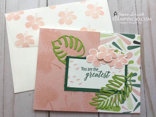 VIDEO | STAMPING 411 WITH JOSEE: TROPICAL CHIC WEEK 2