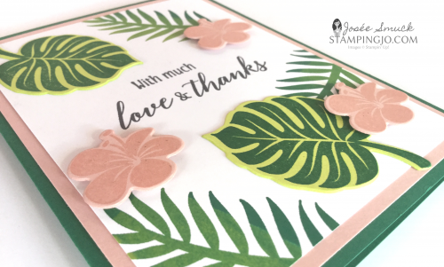 VIDEO | STAMPING 411 WITH JOSEE: TROPICAL CHIC WEEK 3