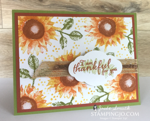 VIDEO | STAMPING 411 WITH JOSEE: PAINTED HARVEST WEEK 1