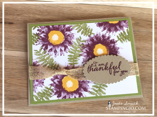 VIDEO | STAMPING 411 WITH JOSEE: PAINTED HARVEST WEEK 2