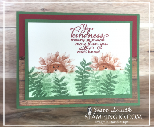 VIDEO | STAMPING 411 WITH JOSEE: PAINTED HARVEST WEEK 4
