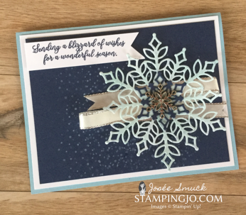 VIDEO | STAMPING 411 WITH JOSEE: SNOW IS GLISTENING WEEK 2