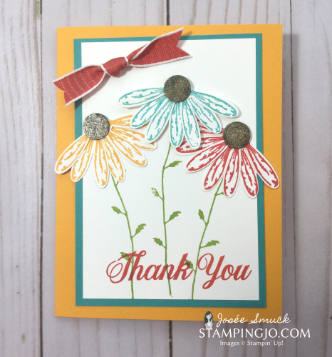 VIDEO | STAMPING 411 WITH JOSEE: DAISY DELIGHT WEEK 2