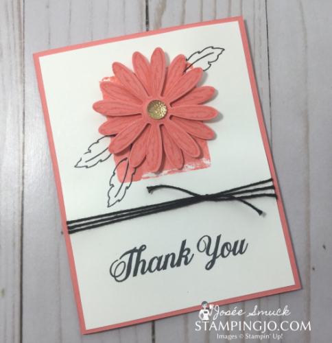 VIDEO | STAMPING 411 WITH JOSEE: DAISY DELIGHT WEEK 3