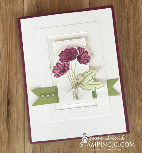 VIDEO | STAMPING 411 WITH JOSEE: DAISY DELIGHT WEEK 4