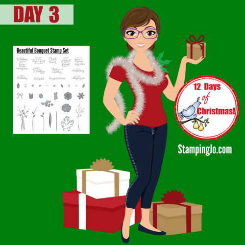 12 days of Christmas Giveaways from Stamping Jo