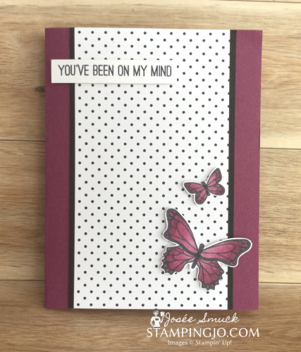 VIDEO   STAMPING 411 WITH JOSEE: BUTTERFLY GALA WEEK 2