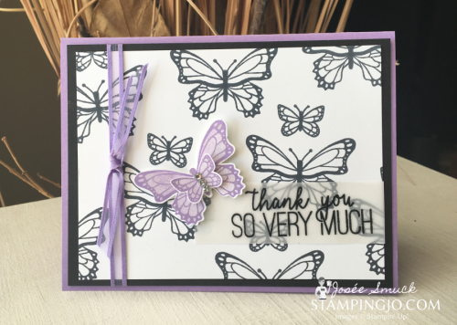 VIDEO   STAMPING 411 WITH JOSEE: BUTTERFLY GALA WEEK 1